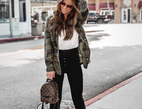 Camo Jacket Style #DKWFashion Friday