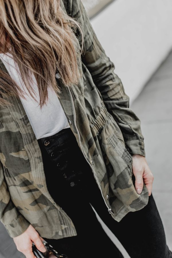 #FridayFashion DKW Styling - Camo Jacket Style