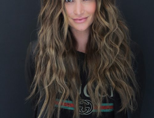 How to Create Beach Wave Hair