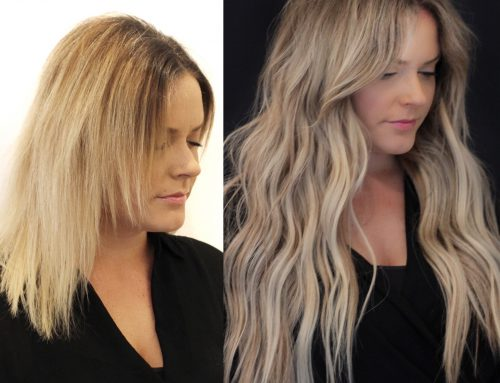 NBR Hand Tied Hair Extensions
