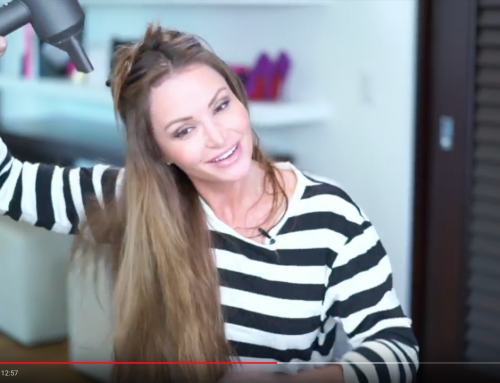 How To Blow Dry Hair Extensions [Hair Tutorial Video]