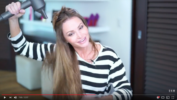How To Blow Dry Hair Extensions Video Tutorial