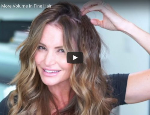 How To Get More Volume In Fine Hair [Hair Tutorial Video]