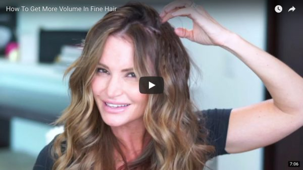 How To Get More Volume In Fine Hair